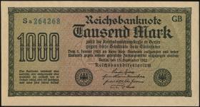 R.075n 1000 Mark 1923 (1-)