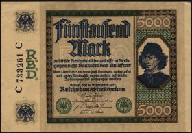 """R.076: 5000 Mark 1922 """"Spinelli"""" (1/1-)"""