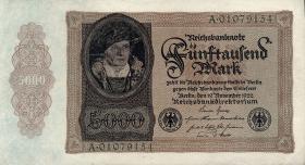 R.077 5000 Mark 1922 (1-)