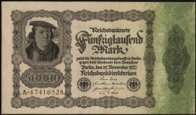 R.079a: 50000 Mark 1922 (1/1-)