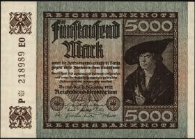 R.080e: 5000 Mark 1922 (1-)