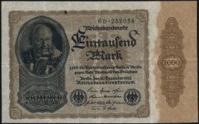 R.081bD: 1000 Mark 1922 D (3)