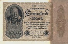 R.081bE: 1000 Mark 1922 E (2+)