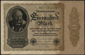 R.081bF: 1000 Mark 1922 F (2)