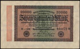 R.084e: 20000 Reichsmark 1923 (1)
