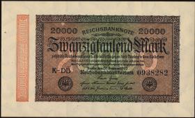 R.084f: 20000 Reichsmark 1923 (1)