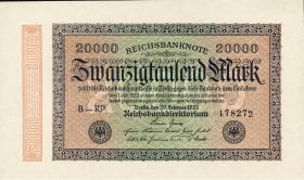 R.084g: 20000 Reichsmark 1923 (1)
