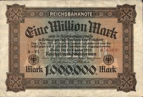 R.085a: 1 Million Mark 1923 (3)