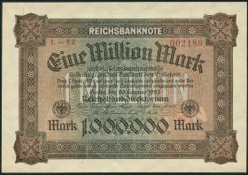 R.085b: 1 Million Mark 1923 YZ (1)