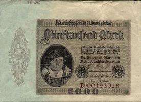 R.086: 5000 Mark 1923 (3+)