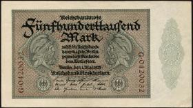R.087a 500.000 Mark 1923 Reichsdruck (1-)