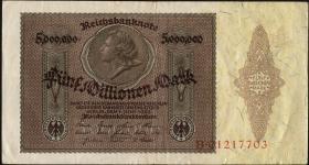 R.088 5 Mill. Mark 1923 Medaillon (3)
