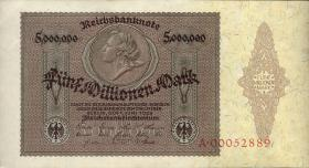 R.088 5 Mill. Mark 1923 Medaillon (1/1-)