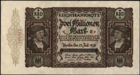 R.089a 2 Mill. Mark 1923 (1-)