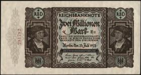 R.089b 2 Mill. Mark 1923 (1-)