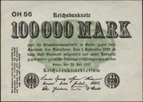 R.090b: 100.000 Mark 1923 (1-)