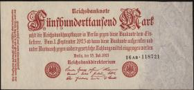 R.091b: 500.000 Mark 1923 (1)