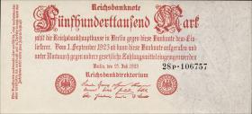 R.091bF: 500.000 Mark 1923 Fehldruck (1)