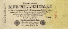 R.092c: 1 Million Mark 1923 (2)