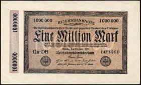 R.093 1 Million Mark 1923 Kölner Provisorium (2+)