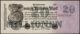 R.096d: 20 Mio. Mark 1923 T (1-)