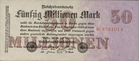 R.097a: 50 Mio. Mark 1923 Reichsdruck (1)