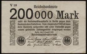 R.099a: 200.000 Mark 1923 V (3)