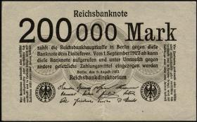 R.099b: 200.000 Mark 1923 (3)