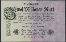 R.102a: 2 Mio. Mark 1923 Reichsdruck (1)