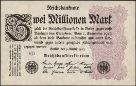 R.103c: 2 Mio. Mark 1923 (1)