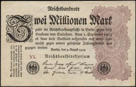 R.103d: 2 Mio. Mark 1923 (1)