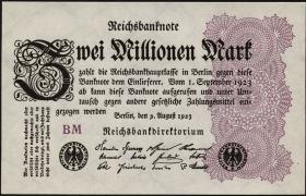 R.103e: 2 Mio. Mark 1923 (1)