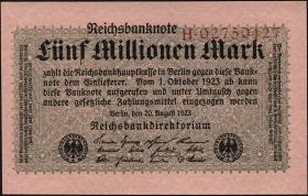 R.104a 5 Mio. Mark 1923 (1)
