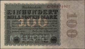 R.106a 100 Mio. Mark 1923 Reichsdruck (1)