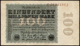 R.106b 100 Mio. Mark 1923 Reichsdruck (3)