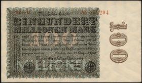 R.106p 100 Mio. Mark 1923 (1-)