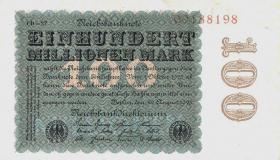 R.106r 100 Mill. Mark 1923 (1/1-)