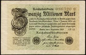 R.107c: 20 Mio. Mark 1923 (3)