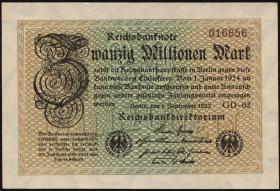 R.107e: 20 Mio. Mark 1923 (1)