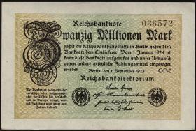 R.107f: 20 Mio. Mark 1923 (1)