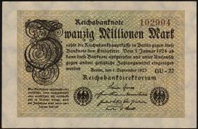 R.107h: 20 Mio. Mark 1923 (1)