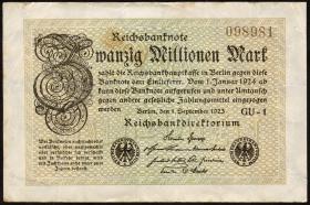R.107h: 20 Mio. Mark 1923 (4)