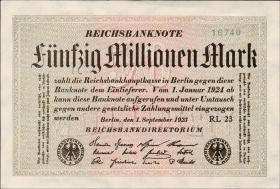 R.108d: 50 Mio. Mark 1923 (1)
