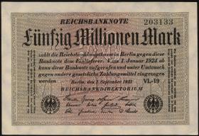 R.108e: 50 Mio. Mark 1923 (1)