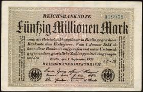 R.108f: 50 Mio. Mark 1923 (2)