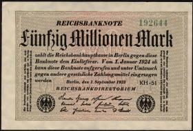 R.108h: 50 Mio. Mark 1923 (1)