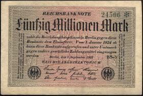 R.108i: 50 Mio. Mark 1923 (1-)