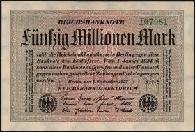R.108k: 50 Mio. Mark 1923 (1)