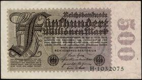R.109a: 500 Mio. Mark 1923 Reichsdruck (3)