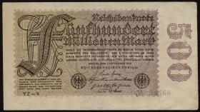 R.109c: 500 Mio. Mark 1923 YZ 5-stellig (2)